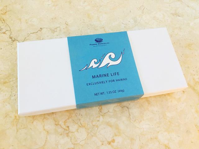 PIERRE MARCOLINI,ハワイ限定,MARINE LIFE CHOCOLATE,パッケージ,