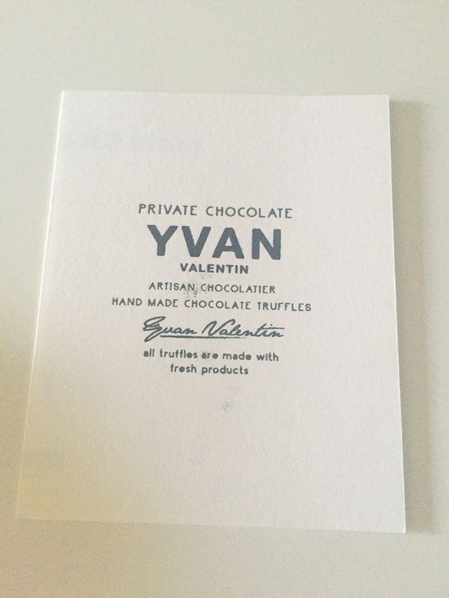 イヴァン・ヴァレンティン,バレンタイン,カード