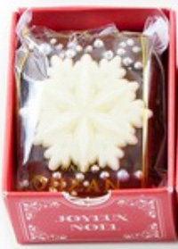 CAFE OHZAN,クリスマス キューブラスク,5個入,ジョワイユノエル,雪の結晶のラスク,カフェオウザン,クリスマス,2020,