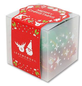 モンロワール,リーフキューブ(クリスマス),8個入,税込648円,クリスマス,2020,Mon Loire,