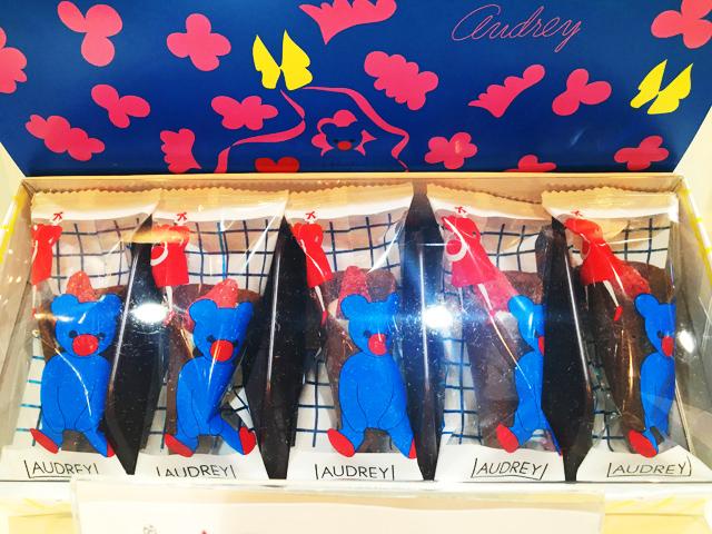 オードリー,個包装されているグレイシアのチョコレート,阪急うめだ本店,バレンタインチョコレート博覧会2020,