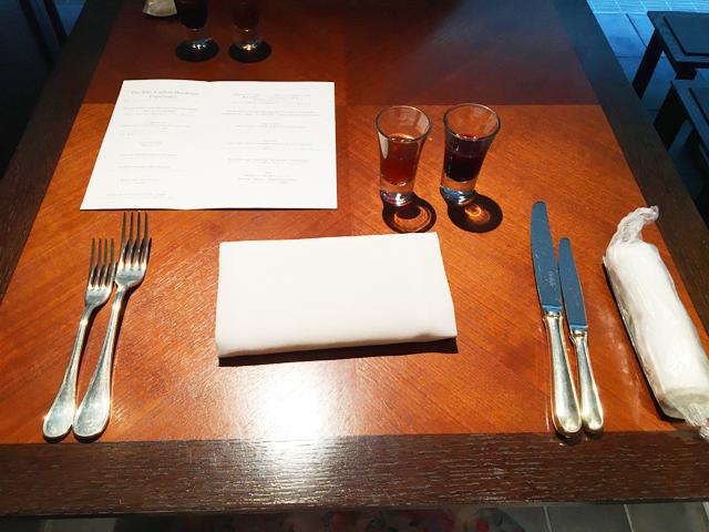 ザ・リッツ・カールトン京都,朝食,洋食のテーブルセット,ラ・ロカンダ,THE RITZ-CARLTON KYOTO,