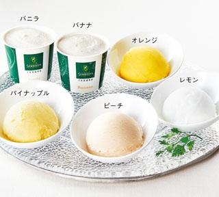 千疋屋,総本店,6種類のアイスクリームシャーベット詰合せ,