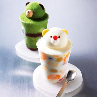 パティスリー ヤナギムラ,ヤナギムラのフローズンしろくま,茶くまのベールと茶くまのベール,