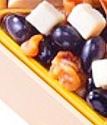 Yuu,おせち,えがおdeだんらん おせち,一の重,黒豆クリームチーズくるみ,大丸松坂屋2021,和・洋・中華風 三段,3人用,大丸松坂屋,料理研究家ブロガーのおせち,