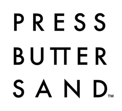 プレスバターサンド,ロゴ,PRESS BUTTER SAND,