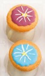朝顔のイラストが描かれたミニクッキーアイス,アンファンのアイシングクッキーアイス2021年夏バージョン,お中元,2021,サマーギフト,アイスクリーム,Enfant, 焼き菓子詰合せ,summer gift,jelly,ice cream,baked sweets,