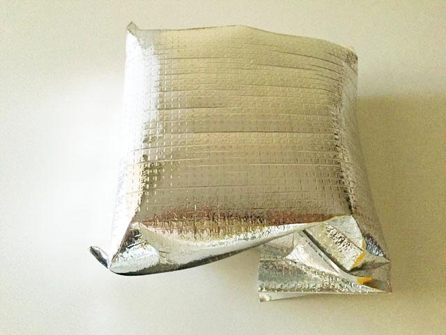 バトンドールクール,アルミ製の保冷用の袋