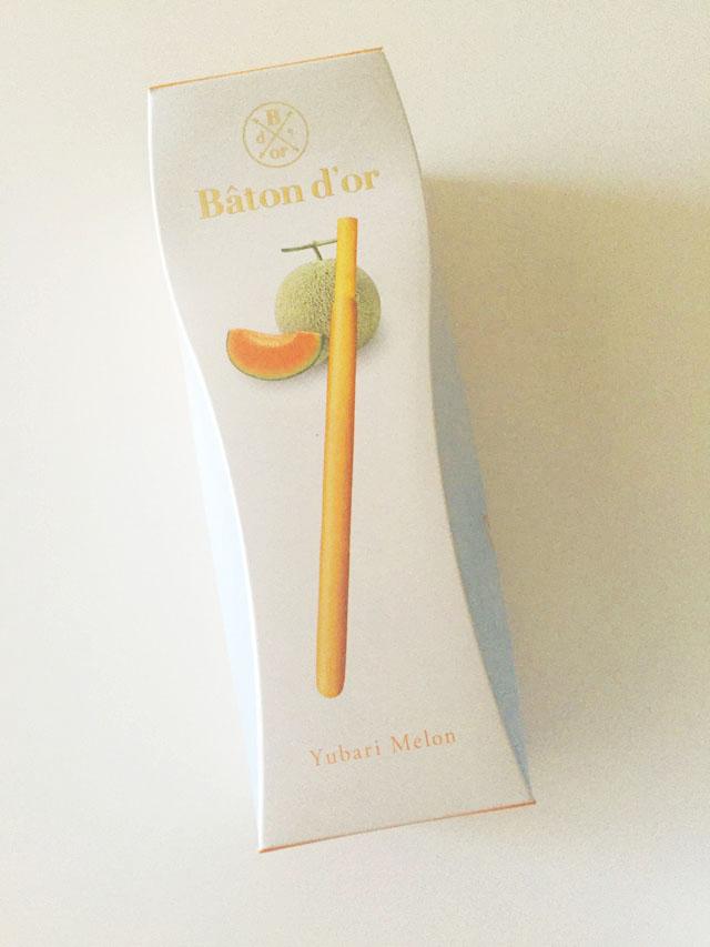 バトンドールクール,夕張メロン,Yubari Melon,箱の表面