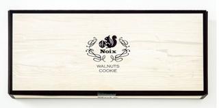 Noix,ノワ,ウォールナットクッキー,9枚入の箱,