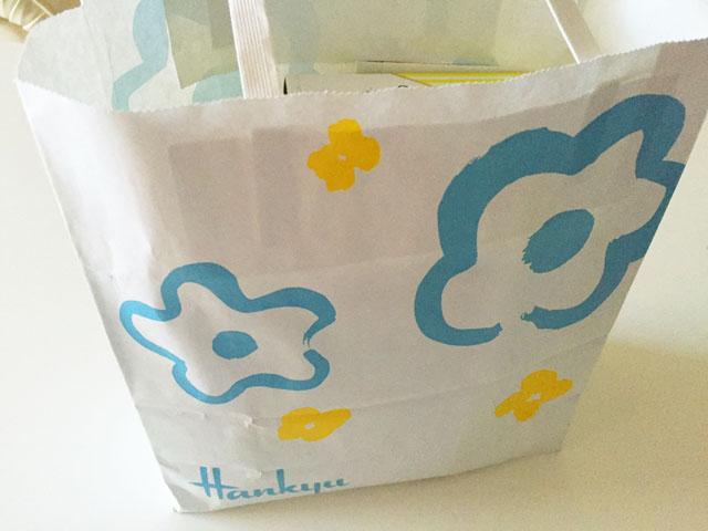 阪急百貨店の袋