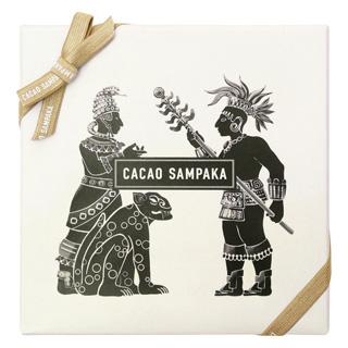 カカオ サンパカ,12種のカカオ原産地 テイスティングセット,KAKAWA(R),外箱