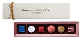 ナカムラチョコレート,オーストラリアン セレクション(6個入),バレンタイン,2020,