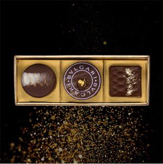 ブルガリイルチョコラート,チョコレートジェムズ3個入り,BVLGARI IL CIOCCOLATO,