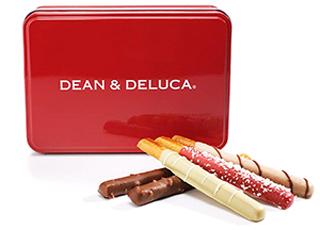 DEAN & DELUCA,ディーンアンドデルーカ,チョコレートカバードプレッツェル アソート赤缶,バレンタイン,2020,