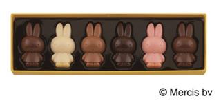 ディック・ブルーナ by モロゾフ,ミッフィーのチョコレート,ミッフィープレーンチョコレート,