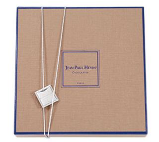 ジャン=ポール・エヴァン,ボンボン ショコラ 25個 ボヌールダンルプレのパッケージ,JEAN-PAUL HEVIN,