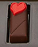 ジョン カナヤ,ボンボンショコラ クールルージュ,スタンダード,赤いハートの封蝋のモチーフがのっているチョコレート,