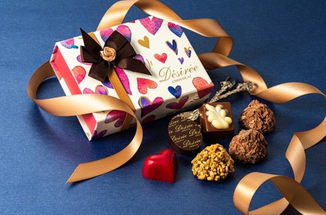 デジレー,ショコラ&トリュフ6個入,税込1134円,Désirée,バレンタイン,2021,チョコレート,Valentine,chocolate,