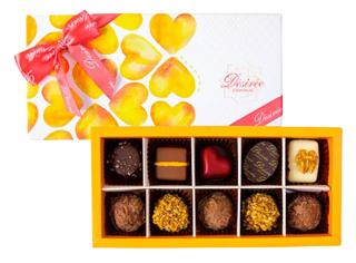 デジレー,ショコラ&トリュフ 10個入,税込1,998円Désirée,バレンタイン,2021,チョコレート,Valentine,chocolate,
