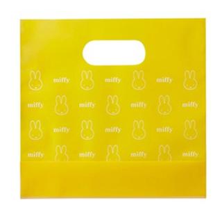 ミッフィー,ミッフィーポーチのお渡し用の黄色のショッピング袋,2021,ディック・ブルーナ by モロゾフ,チョコレート,Valentine,chocolate,