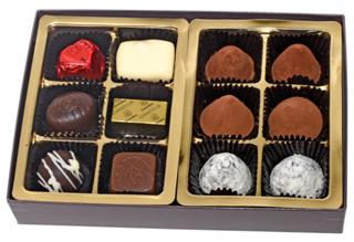 レオニダス,トリュフ&プラリネ MIX 12P,生チョコトリュフとプラリネの詰め合わせ,バレンタイン,2021,チョコレート,Valentine,chocolate,Leonidas,