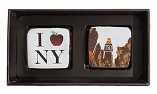 マリベル,ブルーボックス2個入,本体価格1500円,アートガナッシュが2個入っている,バレンタイン,2021,チョコレート,MARIE BELLE,SIGNATURE ART GANACHE COLLECTION,Valentine,chocolate,