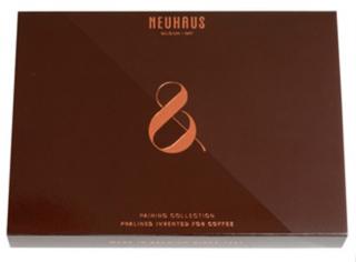 ノイハウス,コーヒー&プラリネ オリジンボックス12個入の茶色の箱,ノイハウスのペアリングコレクション,バレンタイン,2021,チョコレート,ベルギーチョコレート,NEUHAUS,Valentine,chocolate,