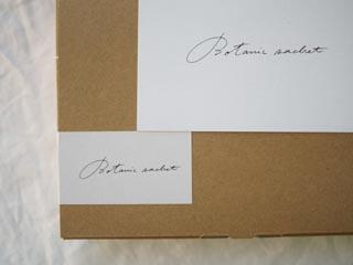ボタニックサシェのThanks box,