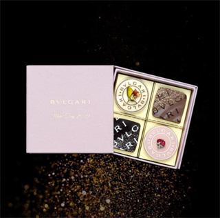 BVLGARI IL CIOCCOLATO(ブルガリ イル・チョコラート) ,チョコレート・ジェムズ ホワイトデー2019(4個入), ホワイトデ―,2019
