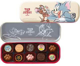 トムとジェリー,ゴンチャロフ,ペン缶仕様のチョコレートアソート,TOM and JERRY,Goncharoff,ホワイトデー,2020,