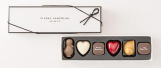ピエールマルコリーニ,ホワイトデー セレクション 6個入,PIERRE MARCOLINI,ホワイトデー,2020,