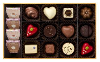 ゴディバ,ティータイム アソートメント 16粒入の中身,本体価格5000円,ホワイトデー,2021,チョコレート,GODIVA,Whiteday,chocolate,