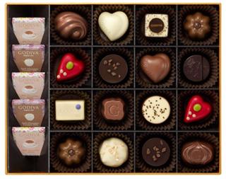 ゴディバ,ティータイム アソートメント 21粒入の中身,本体価格6200円,ホワイトデー,2021,チョコレート,GODIVA,Whiteday,chocolate,