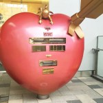 博多駅,ハート型ポスト,KITTE博多