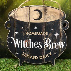 Panneau Chaudron Witches Brew