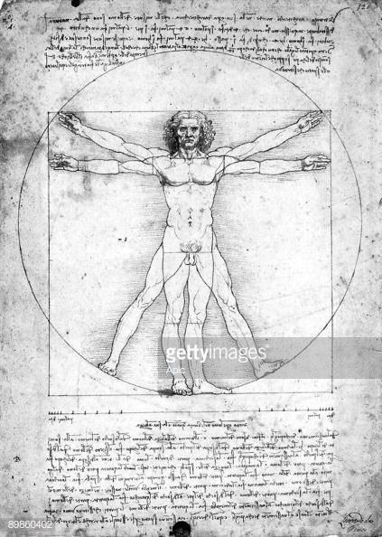 L'uomo vitruviano Leonardo Da Vinci