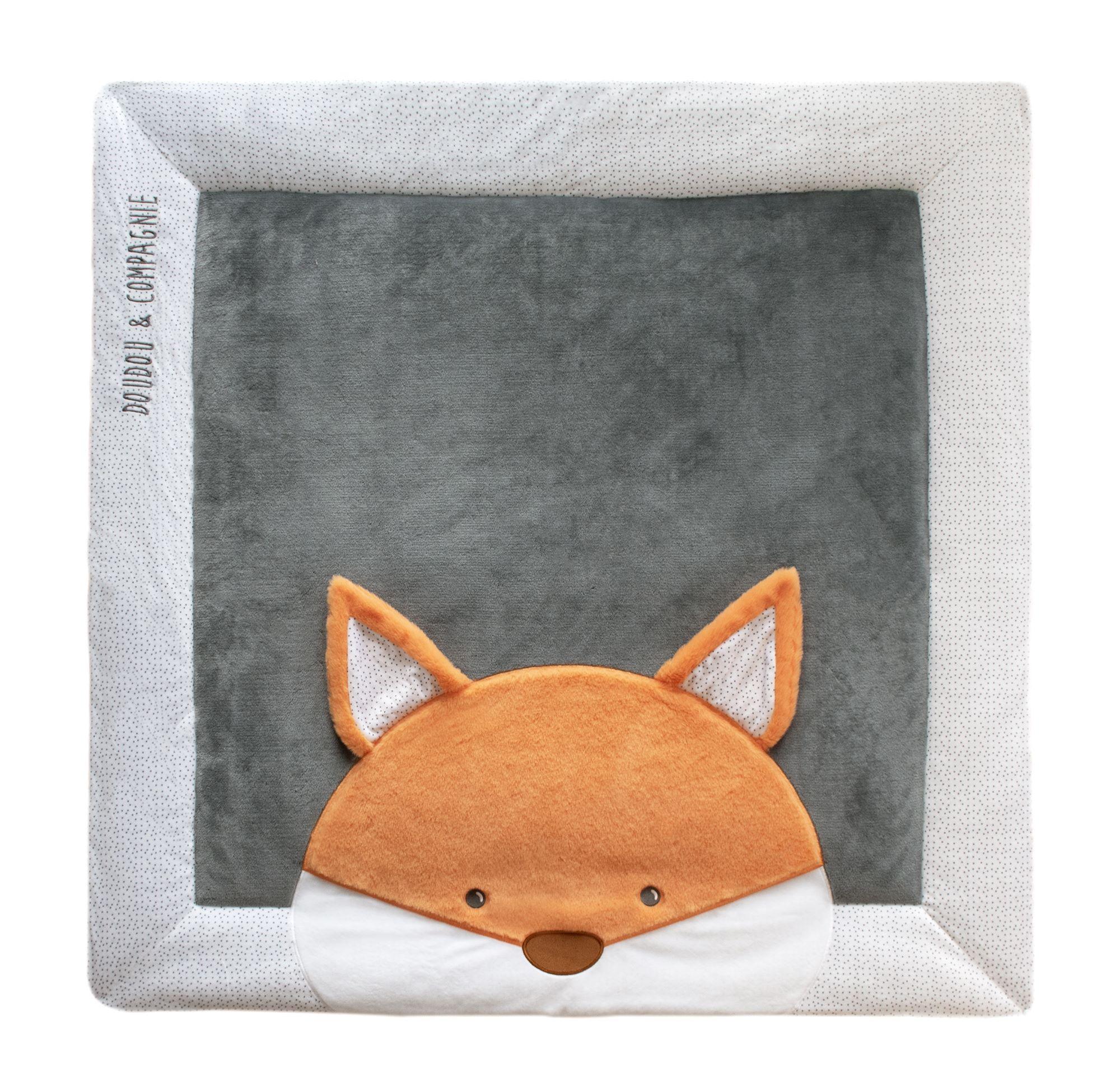 tapis d eveil pour bebe renard tapidou doudou compagnie