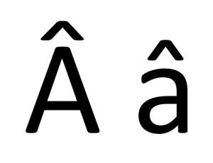 clavier-a-majuscule-minuscule-chapeau-circonflexe