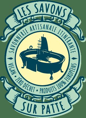 Logo Les Savons Sur Patte réalisées par Poil au Dents