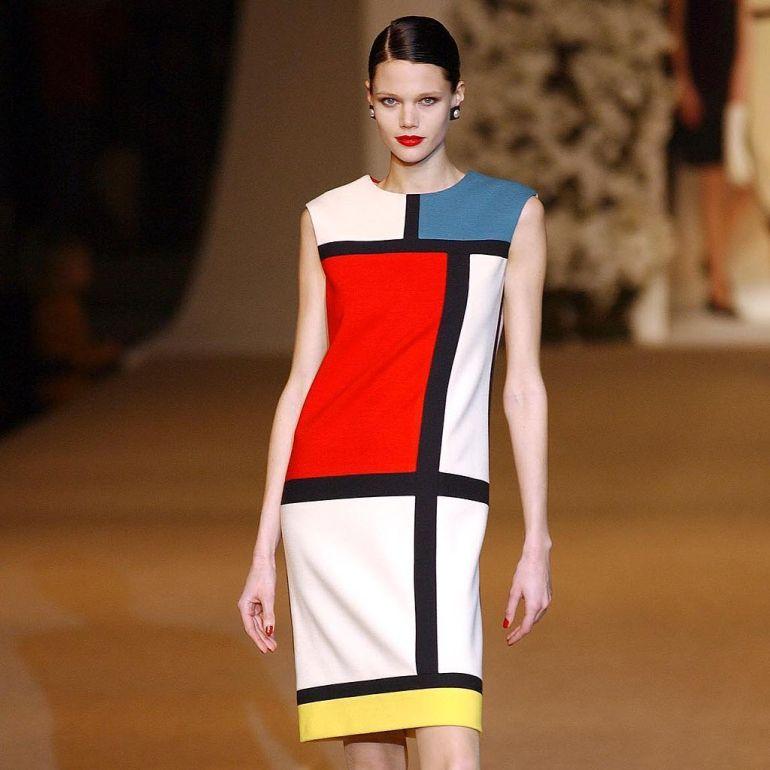 Yves-Saint-Laurent-Mondrian