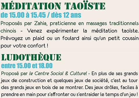 Méditation Taoïste
