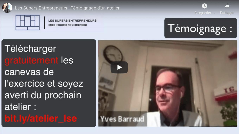 Les-Supers-Entrepreneurs.com - Atelier -Témoignage