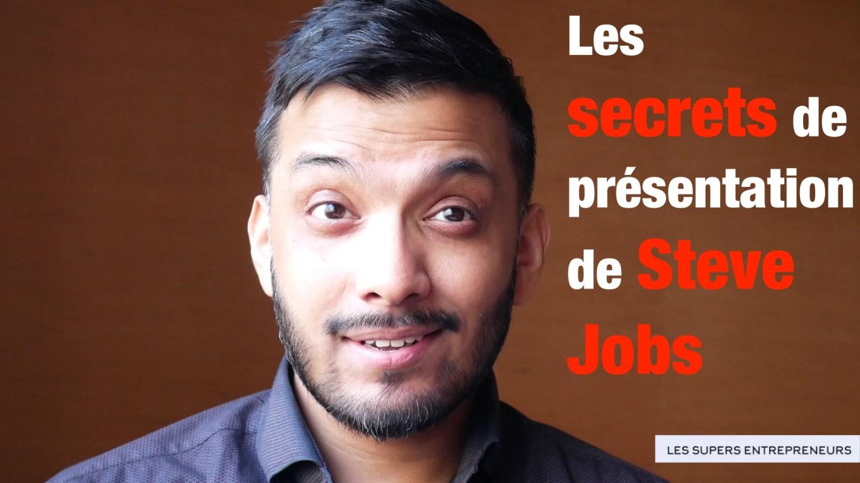 Les secrets de présentation de Steve Jobs
