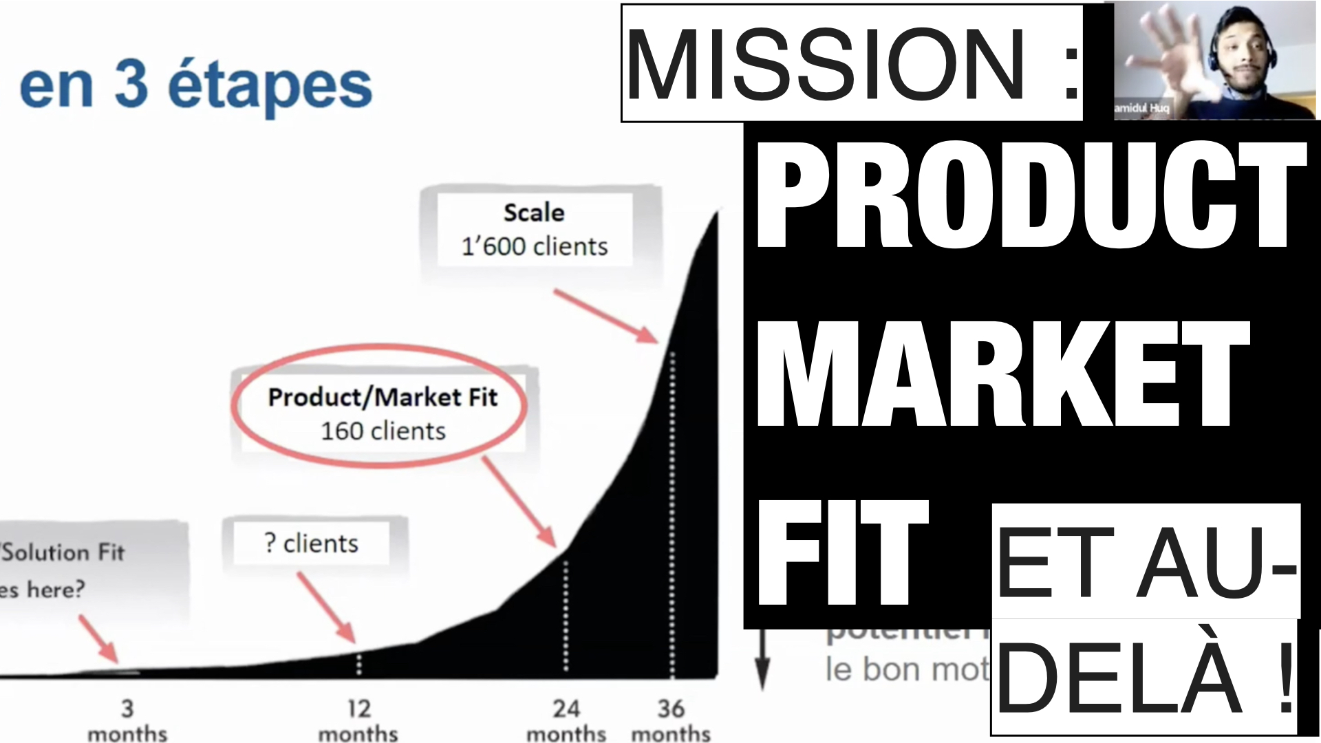 Mission : Product Market Fit et au-delà !