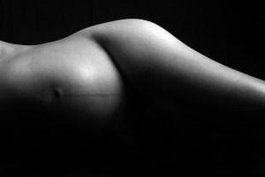 masque de grossesse corps