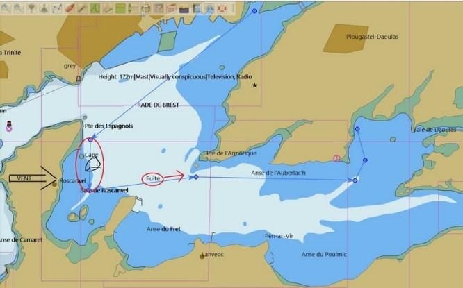 entraînement à la navigation par gros temps