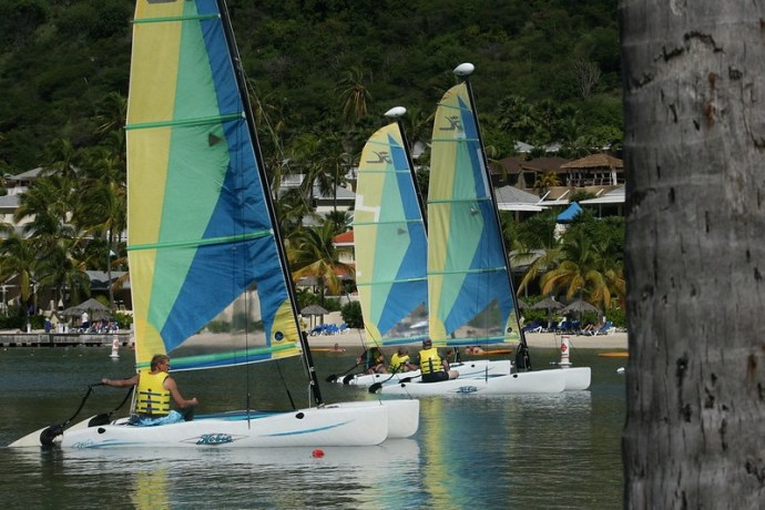 catamarans école de voile