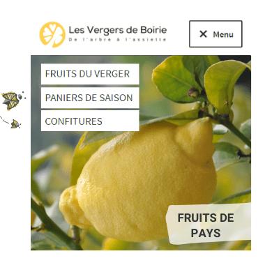 Choisissez vos fruits - Les Vergers de Boirie à Menton
