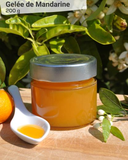 Gelée de Mandarine 200g - LES VERGERS DE BOIRIE A MENTON